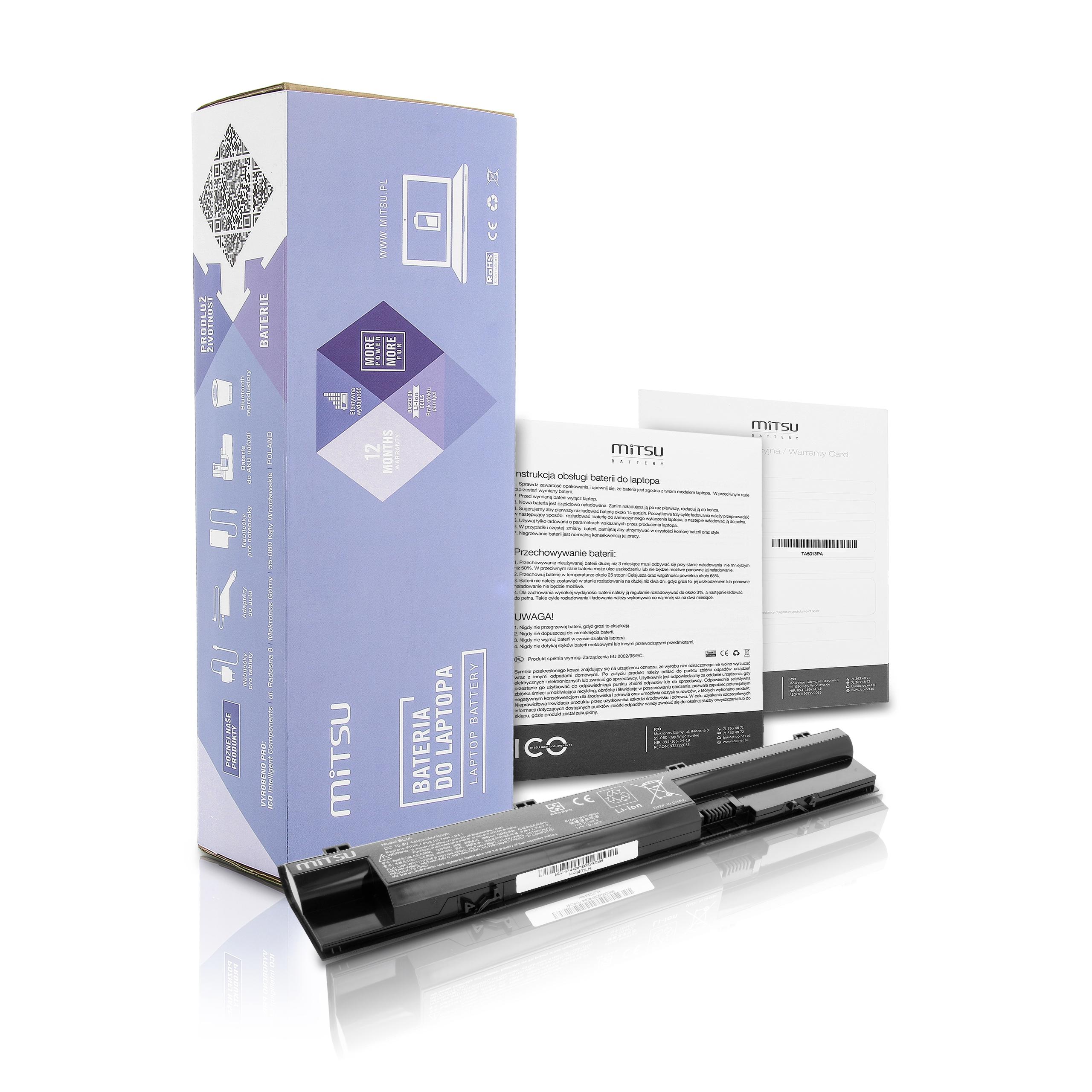 BC HP 450G1 bateria mitsu HP Pr1 2ook 440 445 G1